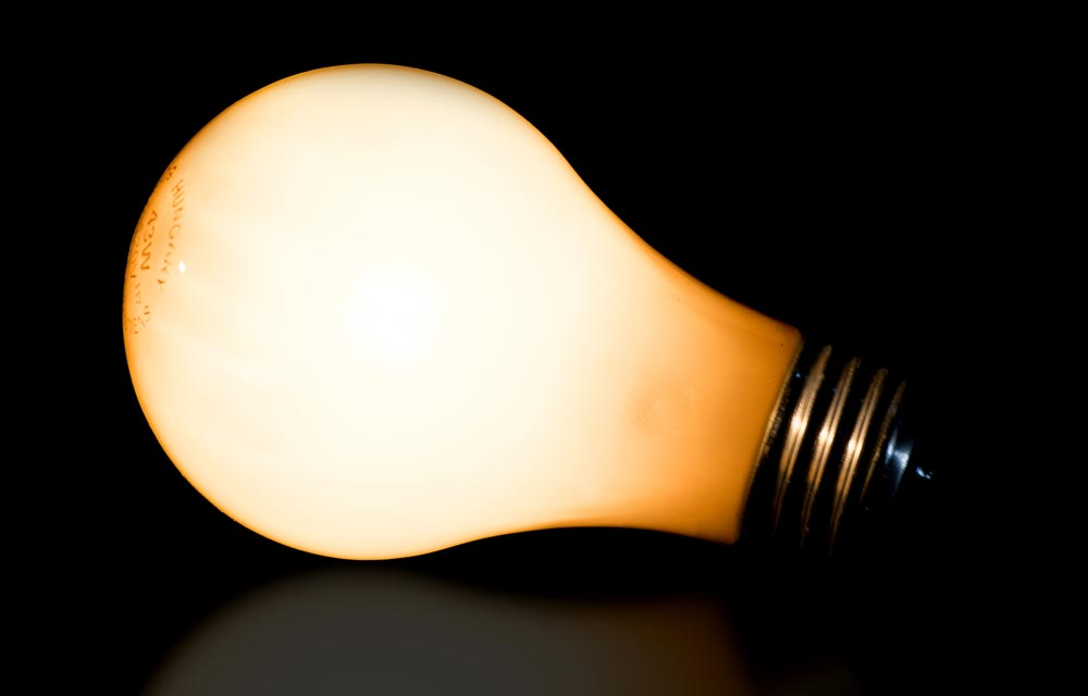 photographing light bulb3
