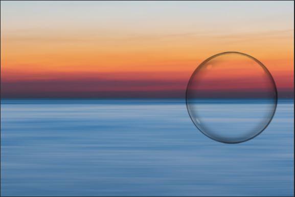 bubble brush stroke