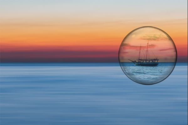 Bubble with Ship