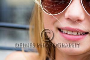girl sunglasses close-up
