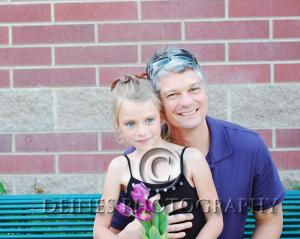 father daughter photograph