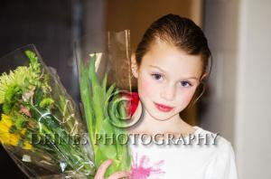 girl ballet portrait
