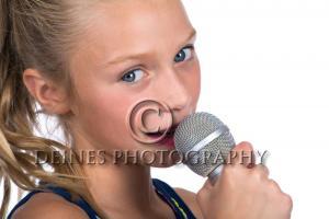 girl rockstar portrait