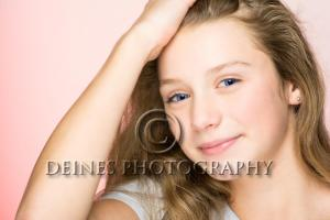 glam female portrait