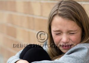sad girl photograph