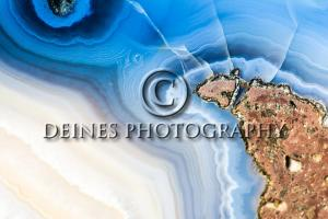 agate blue white photograph