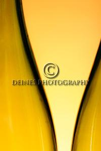 orange bottle abstract